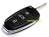 Чип ключ зажигания автомобиля Lada выкидной стиль Audi