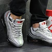 c4261e52 Мужские зимние кроссовки Nike Air Max 95 темно зелёные 6343, цена 1 ...