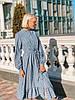 Женское платье в полоску, размеры SML, фото 4