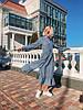 Женское платье в полоску, размеры SML, фото 7