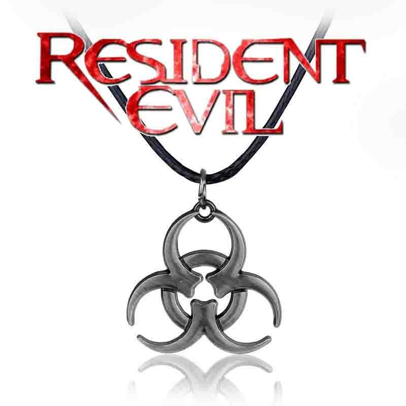 Кулон біологічна небезпека Biohazard Resident of evil Обитель зла