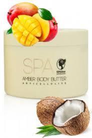 """Антицеллюлитное янтарное масло для тела """"Coconut & Tropical Fruit (Кокос и Тропические фрукт""""  Ламбре / Lambre"""