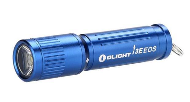 Фонарь Olight LED I3E-TX голубой с батарейкой () (I3E-BLU), Китай