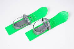 Лыжи для детей 40 см c палками Vikers