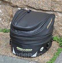 Прочная мото сумка на хвост (заднее сидение) под карбон RR9019 25х35х28