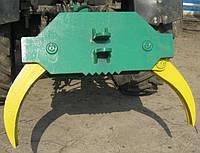 Захват для бревен на заднюю навеску трактора