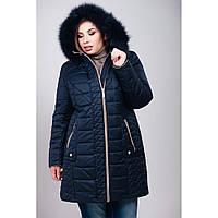 Зимняя женская куртка «Вера» из материала Memory Touch