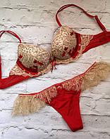Комплект белья Victoria's Secret! Размер - 32B/М