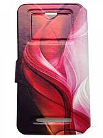 Защитная обложка с окошками ASUS ZenFone 3 Deluxe чехол книжка разных расцветок