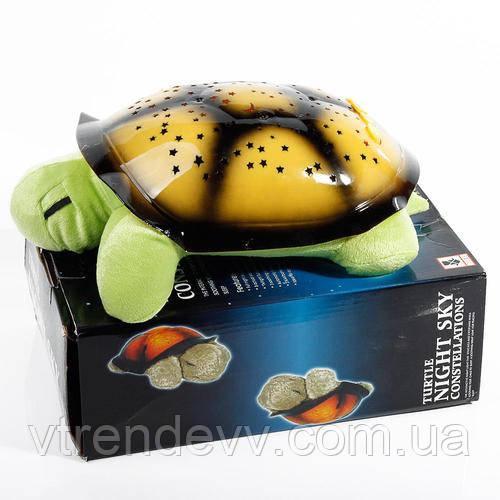 Черепаха проектор-звездного неба музыкальная Turtle Night Sky Constellations
