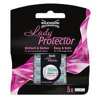 Сменные кассеты Wilkinson Sword (Schick) Lady Protector 5 шт.