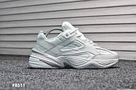 Мужские кроссовки Nike Tekno White (Реплика)