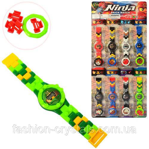 Детские наручные часы конструктор Ninja