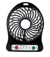 Портативный вентилятор Mini Fan Portable с аккумулятором 18650