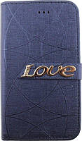 Чехол TOTO Book Universal Love 4.5-5.0 Blue (Glvss17)