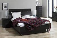 """Деревянная кровать """"Латте"""" Мебель с натурального дерева."""