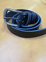 Ремень джинсовый ,классический 45 мм ( 4.5 см) . Цвет черный