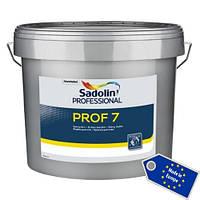 Матовая латексная краска для внутренних работ Sadolin Prof-7 10л