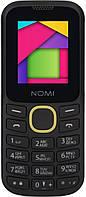 Мобильный телефон Nomi i184 Black-Yellow