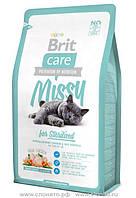 Brit Care Cat Sterilised 2 кг Гипоаллергенный корм для стерилизованных кошек