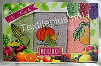 Полотенца махровые кухонные - Merzuka - Fruits - 3 шт. - 30*50 - 100% хлопок - Турция - (kod1686), фото 1