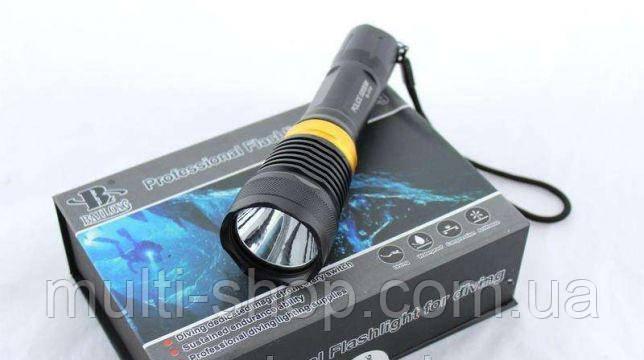 Фонарик для дайвинга POLICE 99000W подводный фонарь