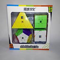 Набор головоломок MF MoYu (пирамидка, мегаминкс, скьюб, скваер) Color