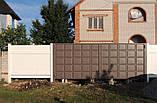 Распашные ворота 4000х2000 заполнение филенка, фото 9