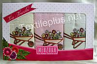Полотенца махровые кухонные - Merzuka - Tea - 3 шт. - 30*50 - 100% хлопок - Турция - (kod1690)