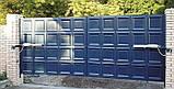 Распашные ворота 4500х2000 заполнение филенка, фото 2
