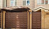 Распашные ворота 4500х2000 заполнение филенка, фото 4