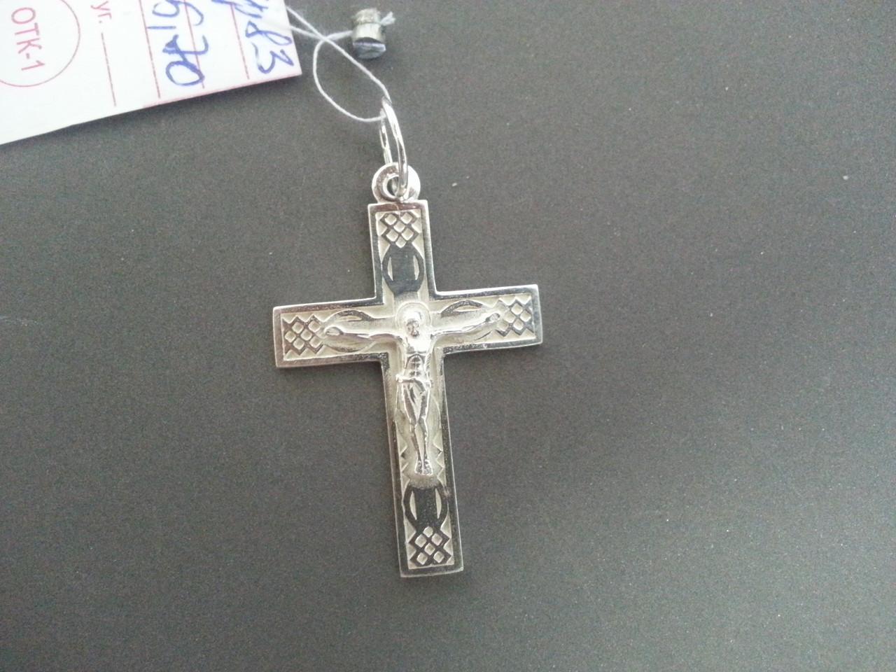 Серебряный Крест. Арт. Кр 83