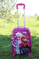 Дитяча валіза на 4 коліщатках Холодне Серце 22 літри