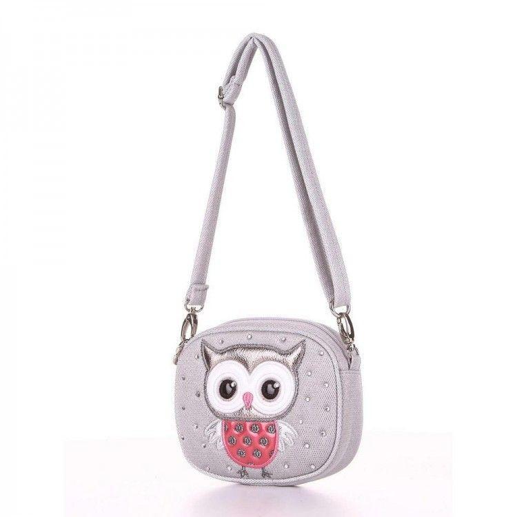 0c14bd56c134 Серебряная детская сумка две в одной (через плечо/пояс) Alba Soboni арт.