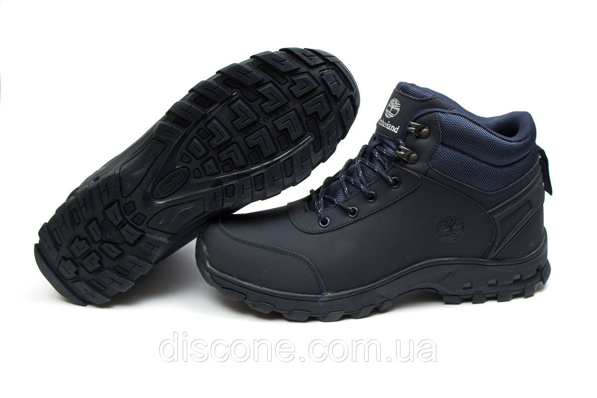 Зимние кроссовки ► Timberland Canard Oxford,  темно-синие (Код: 30052) ► [  41 44 46  ] ✅Скидка 32%