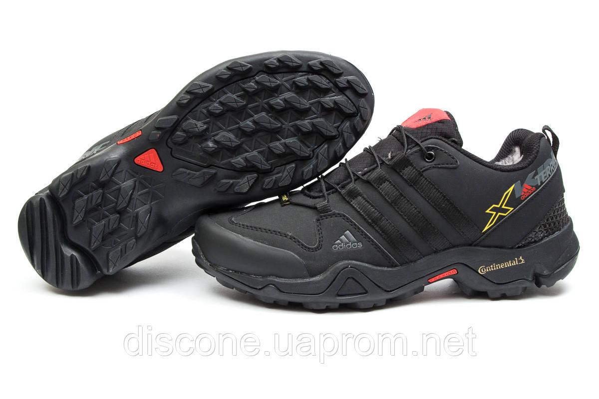 Зимние кроссовки ► Adidas Terrex Gore Tex,  черные (Код: 30101) ►(нет на складе) П Р О Д А Н О!