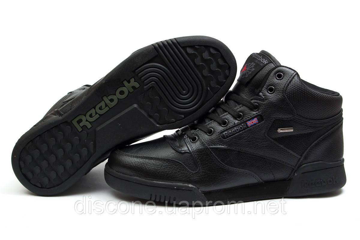 Зимние кроссовки ► Reebok Classic,  черные (Код: 30142) ►(нет на складе) П Р О Д А Н О!