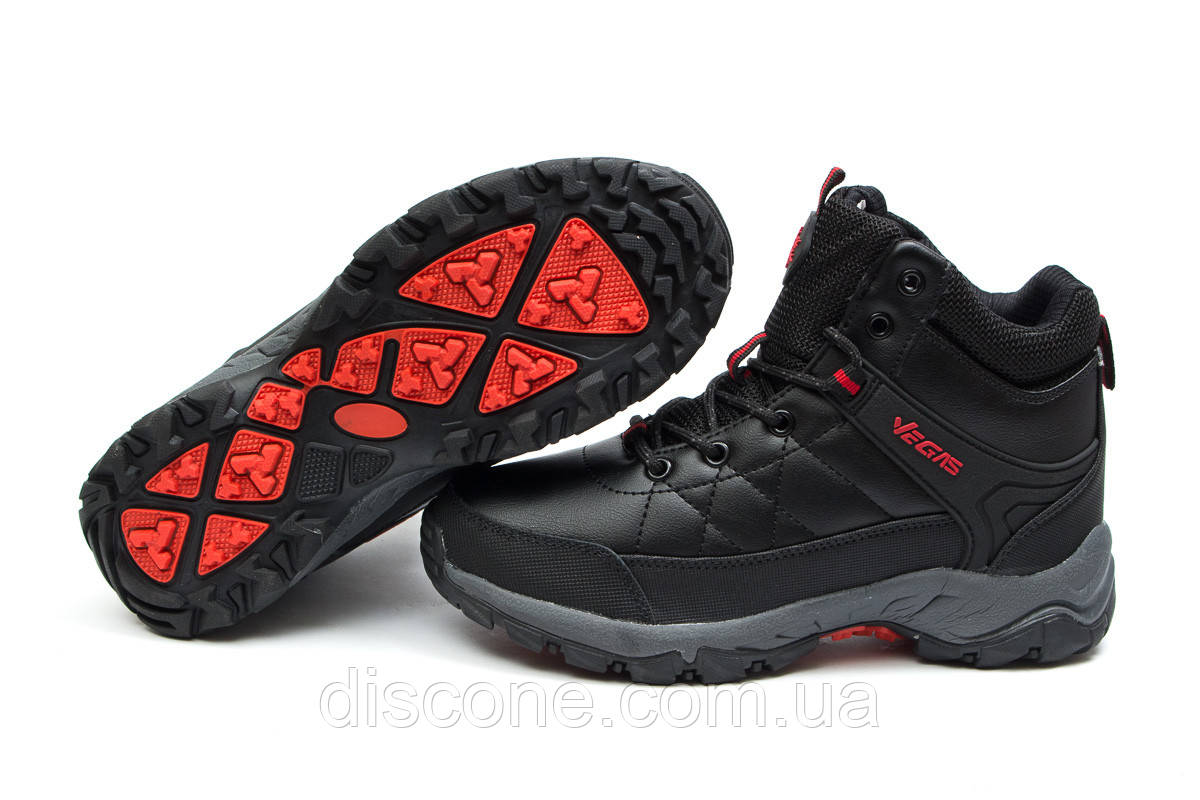Зимние женские ботинки 30151 ► Vegas, черные ✅SALE! % ► [ нет в наличии ]