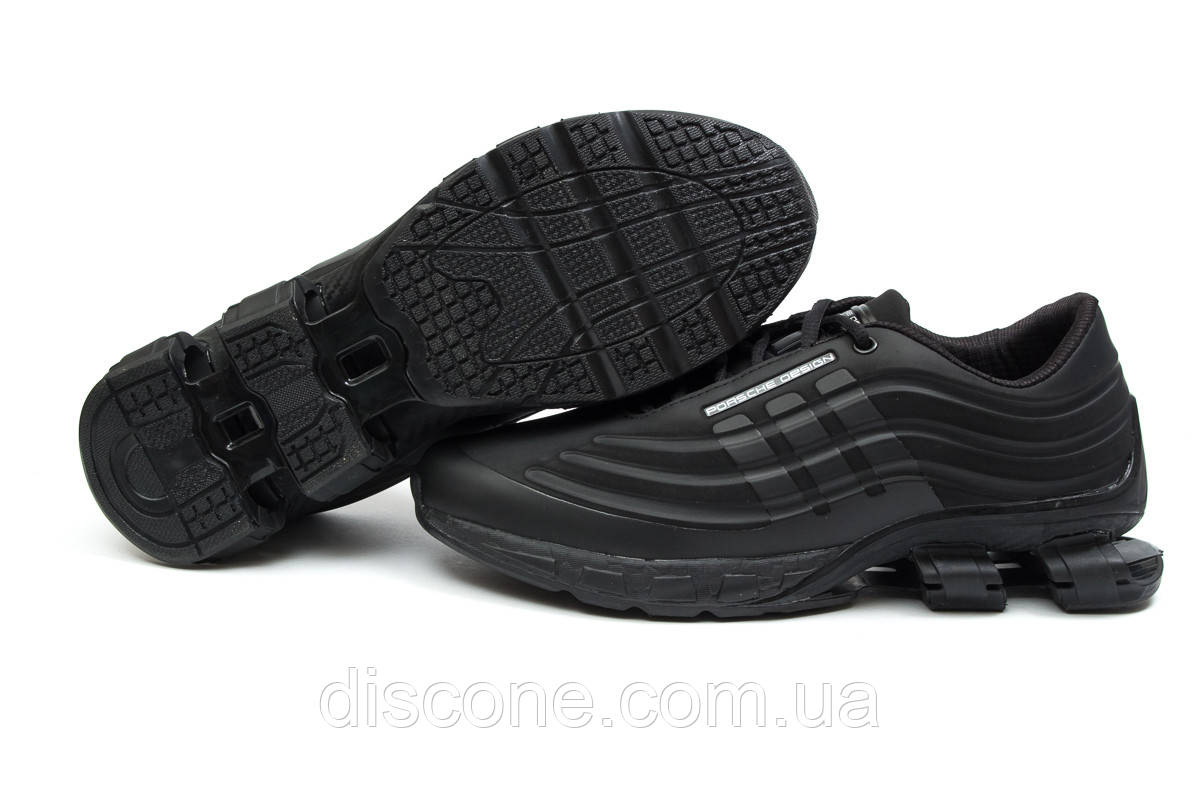 Кроссовки мужские 14734 ► Adidas Porsche Desighn, черные ✅Скидка % ► [ нет в наличии ]