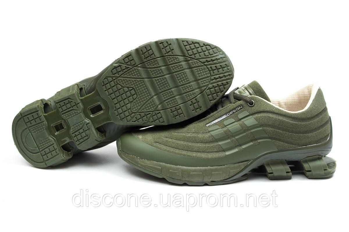 Кроссовки мужские 14735 ► Adidas Porsche Desighn, зеленые ✅Скидка 35% ► [ 41 42 44 45 ]