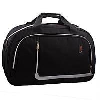 50a184b7a0fc Дорожно-спортивная текстильная сумка на двух ручках NN B-NN02100 черная
