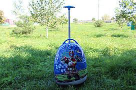 Дитяча валіза на 2 коліщатках Робот 22 літри