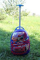 Дитяча валіза на 2 коліщатках Тачки 22 літри