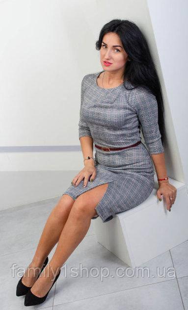 1904d1ad3da0246 Очаровательное женское платье с разрезом по ножке.: продажа, цена в ...