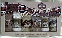 Полотенца махровые кухонные - Merzuka - Latte - 6 шт. - 40*60 - 100% хлопок - Турция - (kod1707)