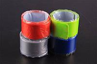 Светоотражающая лента-браслет (фликер) белая