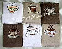 Полотенца махровые кухонные - Gulcan - Coffee - 6 шт. - 30*50 - 100% хлопок - Турция - (kod1720), фото 1