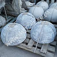 Антипарковочная полусфера бетонная h-32