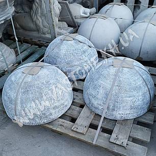Антипарковочная полусфера бетонная h-32, фото 2