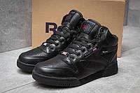 Зимние кроссовки в стиле Reebok Classic, черные (30142),  [  41 45 46  ]